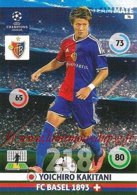 2014-15 - Adrenalyn XL champions League N° 076 - Yoichiro KAKITANI (FC Bâle)