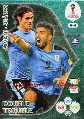 N° 441 - Edinson CAVANI (2013-??, PSG > 2018, Uruguay) (Double Trouble)