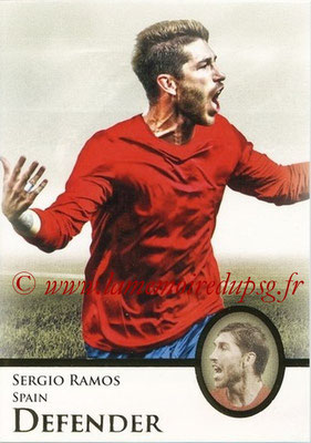 2013 - Futera World Football Unique - N° 027 - Sergio RAMOS (Espagne) (Defender)