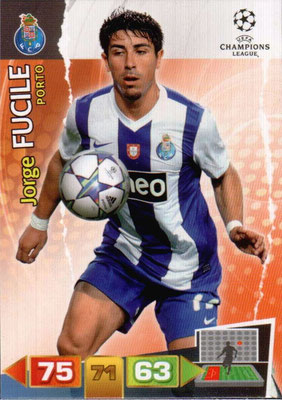 2011-12 - Panini Champions League Cards - N° 215 - Jorge FUCILE (FC Porto)