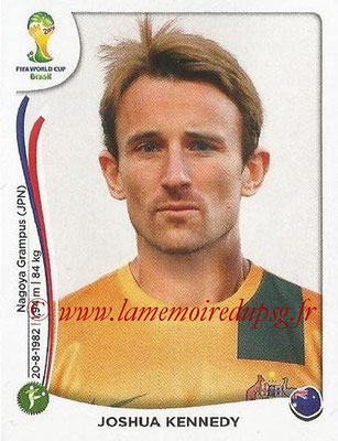 2014 - Panini FIFA World Cup Brazil Stickers - N° 183 - Joshua KENNEDY (Australie)