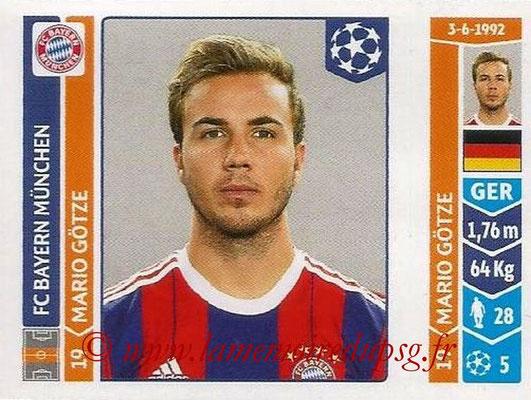 2014-15 - Panini Champions League N° 361 - Mario GOTZE (FC Bayern Munich)