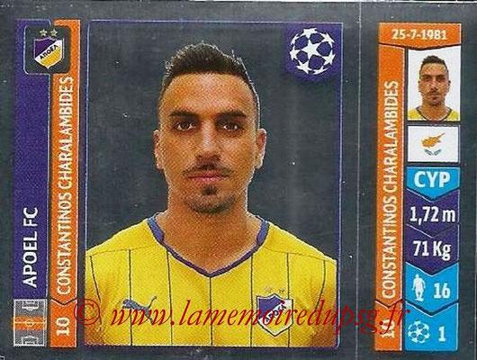 2014-15 - Panini Champions League N° 478 - Constantino CHARALAMBIDES (Apoel FC)