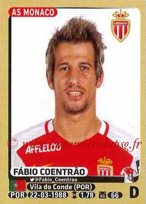 2015-16 - Panini Ligue 1 Stickers - N° 245 - Fabio COENTRAO (AS Monaco)