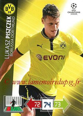2012-13 - Adrenalyn XL champions League N° 073 - Lukasz PISZCZEK (Borussia Dortmund)