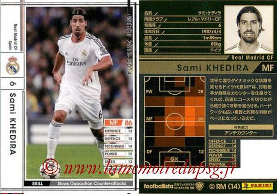 2013-14 - WCCF - N° EXT - Sami KHEDIRA (Real Madrid CF) (Extra)