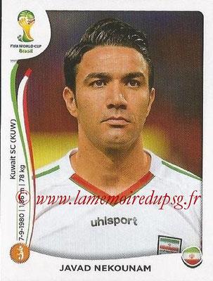 2014 - Panini FIFA World Cup Brazil Stickers - N° 460 - Javad NEKOUNAM (Iran)