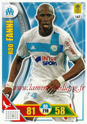 2017-18 - Panini Adrenalyn XL Ligue 1 - N° 147 - Rod FANNI (Marseille)