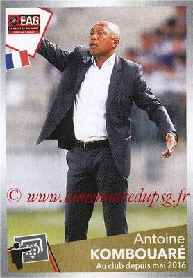 N° 152 - Antoine KOMBOUARE (1990-95, PSG > 1999-03, Entraîneur réserve PSG > 2009-Déc 11, Entraîneur PSG > 2017-18, Entraîneur Guingamp)