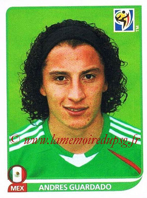 2010 - Panini FIFA World Cup South Africa Stickers - N° 060 - Andres GUARDADO (Méxique)