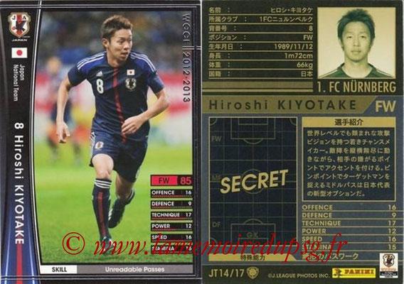 2012-13 - WCCF - N° JT14 - Hiroshi KIYOTAKE (FC Nuremberg) (Japon)