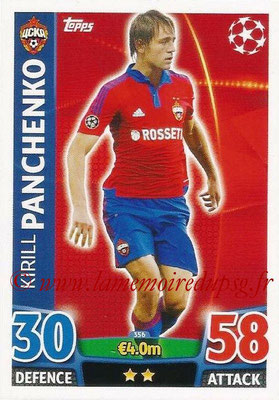 2015-16 - Topps UEFA Champions League Match Attax - N° 356 - Kirill PANCHENKO (CSKA Moscou)