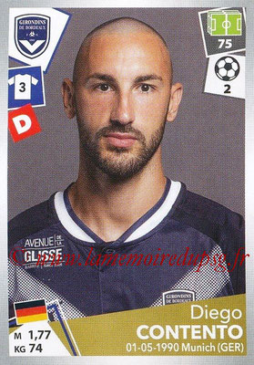 2017-18 - Panini Ligue 1 Stickers - N° 054 - Diego CONTENTO (Bordeaux)