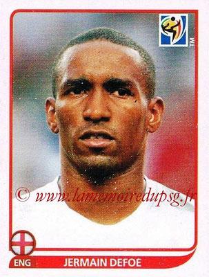 2010 - Panini FIFA World Cup South Africa Stickers - N° 199 - Jermain DEFOE (Angleterre)