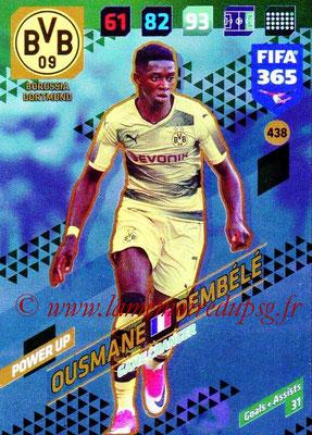 2017-18 - Panini FIFA 365 Cards - N° 438 - Ousmane DEMBELE (Borussia Dortmund) (Game Changer)