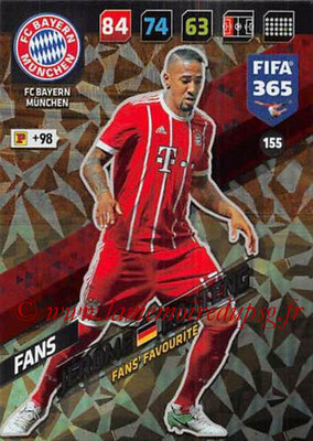 2017-18 - Panini FIFA 365 Cards - N° 155 - Jérome BOATENG (FC Bayern Munich) (Fans' Favourite)