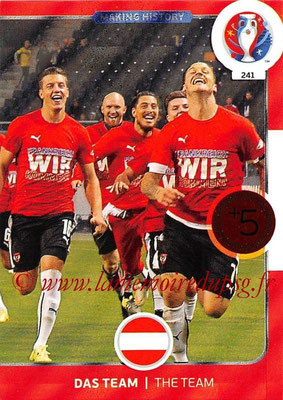 Panini Euro 2016 Cards - N° 241 - Making History de Autriche