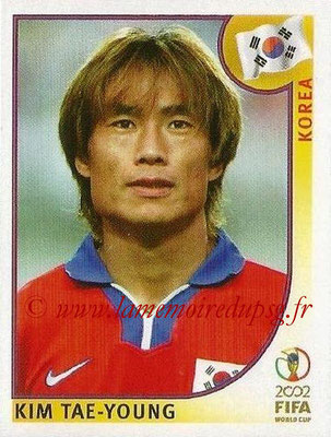 2002 - Panini FIFA World Cup Stickers - N° 244 - Kim TAE-YOUNG (Corée)