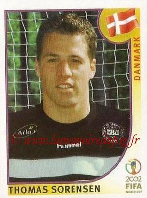 2002 - Panini FIFA World Cup Stickers - N° 081 - Thomas SORENSEN (Danemark)