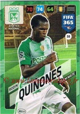 2017-18 - Panini FIFA 365 Cards - N° 058 - Rodin QUINONES (Atletico Nacional)