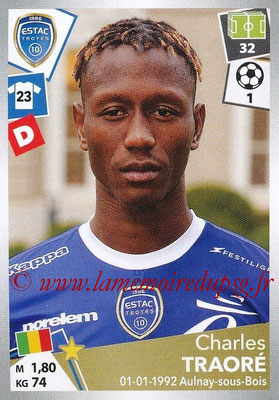 2017-18 - Panini Ligue 1 Stickers - N° 501 - Charles TRAORE (Troyes)