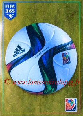 2015-16 - Panini FIFA 365 Stickers - N° 063 - FIFA Women's World Cup Official Ball (FIFA Women's World Cup)
