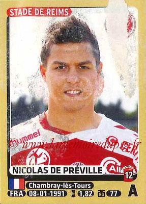 2015-16 - Panini Ligue 1 Stickers - N° 382 - Nicolas DE PREVILLE (Stade de Reims)