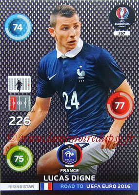 N° 267 - Lucas DIGNE (2014-??, PSG > 2015, France) (Rising Star)