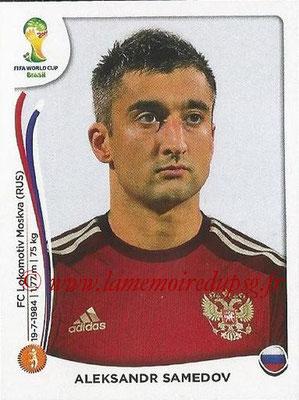 2014 - Panini FIFA World Cup Brazil Stickers - N° 616 - Aleksandr SAMEDOV (Russie)