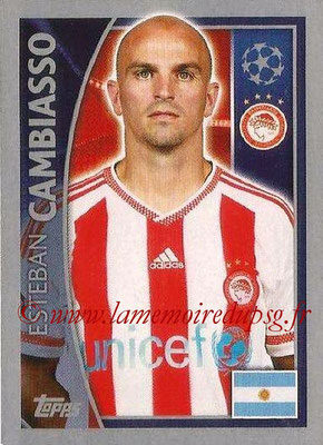 2015-16 - Topps UEFA Champions League Stickers - N° 415 - Esteban CAMBIASSO(Olympiacos FC)