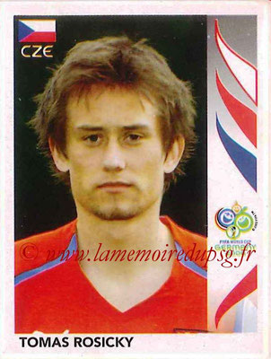 2006 - Panini FIFA World Cup Germany Stickers - N° 372 - Tomas ROSICKY (République Tchèque)