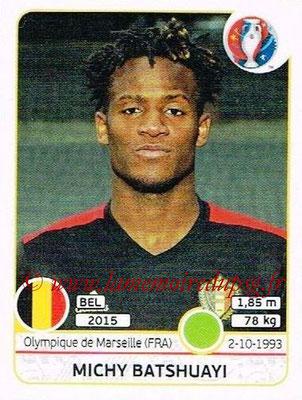 Panini Euro 2016 Stickers - N° 483 - Michy BATSHUAYI (Belgique)