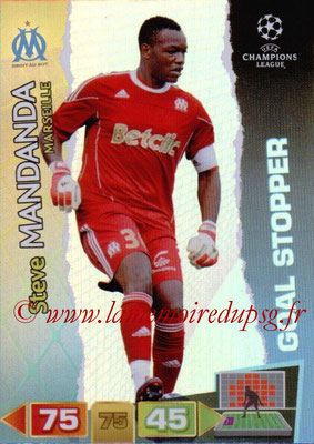 2011-12 - Panini Champions League Cards - N° 291 - Steve MANDANDA (Olympique de Marseille) (Goal Stopper)