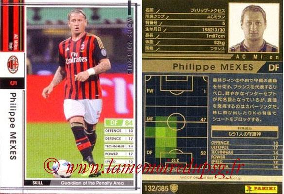 2013-14 - WCCF - N° 132 - Philippe MEXES (Milan AC)