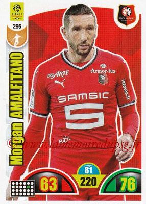2018-19 - Panini Adrenalyn XL Ligue 1 - N° 295 - Morgan AMALFITANO (Rennes)