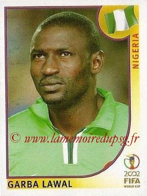 2002 - Panini FIFA World Cup Stickers - N° 413 - Garba LAWAL (Nigéria)