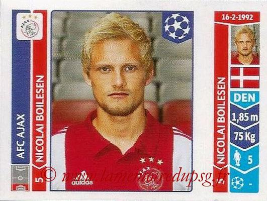 2014-15 - Panini Champions League N° 457 - Nicolai BOILESSEN (AFC Ajax)
