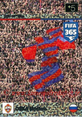 2015-16 - Panini Adrenalyn XL FIFA 365 - N° 302 - CSKA Moscou (12th Man)