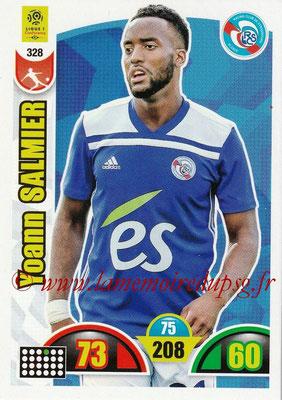 2018-19 - Panini Adrenalyn XL Ligue 1 - N° 328 - Yoann SALMIER (Strasbourg)
