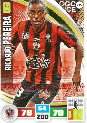 2016-17 - Panini Adrenalyn XL Ligue 1 - N° 275 - Ricardo PEREIRA (Nice)