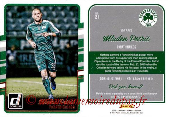 2016 - Panini Donruss Cards - N° 021 - Mladen PETRIC (Panathinaikos)