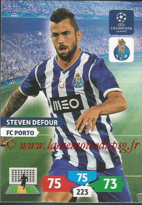 2013-14 - Adrenalyn XL champions League N° 223 - Steven DEFOUR (FC Porto)