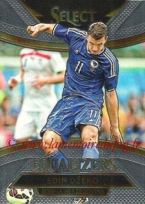 2015 - Panini Select Soccer - N° E03 - Edin DZEKO (Bosnie-Herzegovine) (Equalizers)