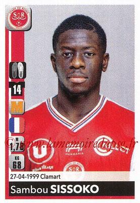 2018-19 - Panini Ligue 1 Stickers - N° T31 - Sambou SISSOKO (Reims) (Transfert)