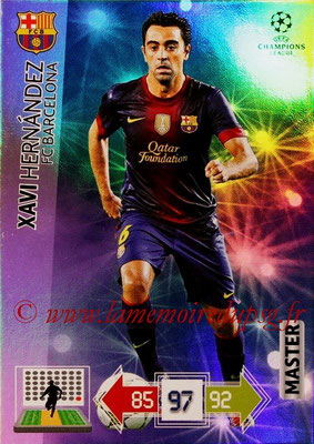 2012-13 - Adrenalyn XL champions League N° 328 - Xavi HERNANDEZ (FC Barcelone) (Master)