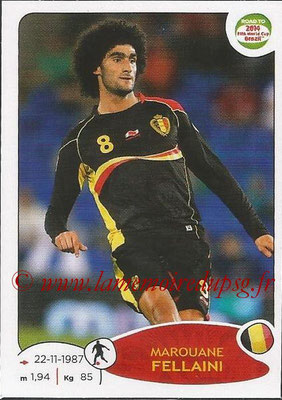 2014 - Panini Road to FIFA World Cup Brazil Stickers - N° 264 - Marouane FELLAINI (Belgique)