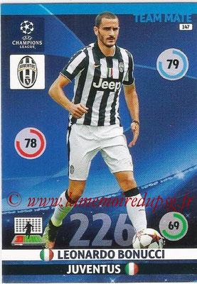 2014-15 - Adrenalyn XL champions League N° 147 - Leonardo BONUCCI (Juventus FC)
