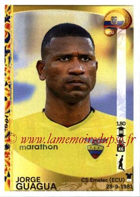 Panini Copa America Centenario USA 2016 Stickers - N° 143 - Jorge GUAGUA (Equateur)
