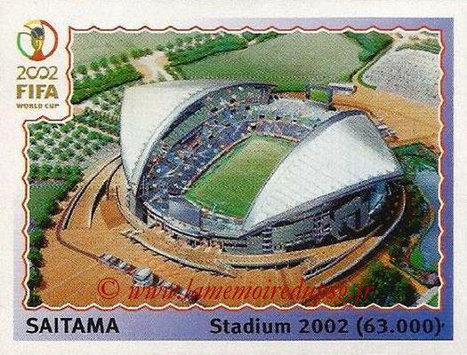 2002 - Panini FIFA World Cup Stickers - N° 022 - Stade Saitama (Stadium 2002)