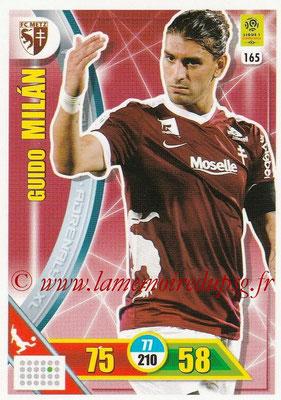 2017-18 - Panini Adrenalyn XL Ligue 1 - N° 165 - Guido MILAN (Metz)